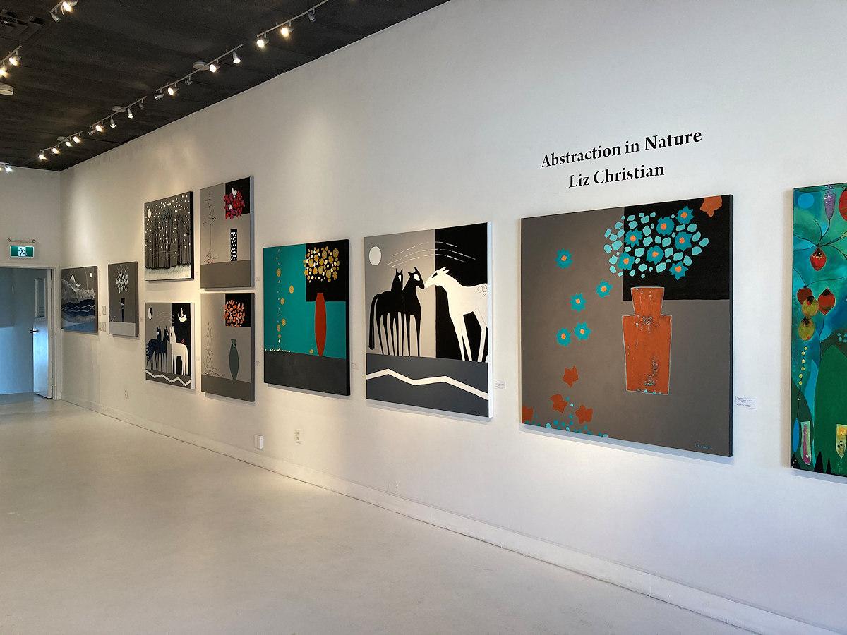 Liz Christian Art - gallery showing